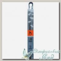 Крючок для вязания Пони (Pony) 58224 d=1 мм 12 см
