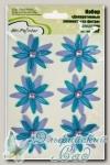 Декоративные элементы из фетра *Цветы фиолетовые* DAF/03 Mr.Painter