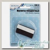 Магниты квадратные с клеевым слоем на вспененной основе SSM-01 Mr. Painter 8 шт