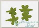 Клипсы (брадс) *Цветок зеленый* 7835329 Rayher, d=4 мм, 100 шт