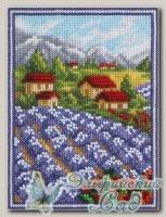 PANNA Набор для вышивания ГМ-1779 *Лавандовый край*