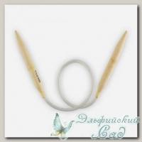 Спицы круговые для вязания Гамма (Gamma) BC-S45 бамбуковые d=10 мм 45 см
