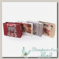 NGRS Подарочный пакет *Сапожки* Stilerra 23x18x10 см (бежевый)