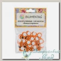 Декоративные элементы *Blumentag* WLBF-01 (Божья коровка) 24 шт