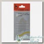 Иглы для вышивания гобеленовые Pony 5560 №24-26, 6 шт