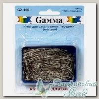 Иглы для закалывания *гвоздики* Gamma GZ-100 100 г