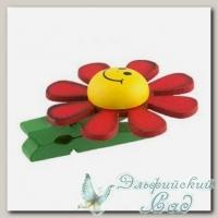 Декоративные прищепки *Blumentag* WCRS-35 (01 красные ромашки) 6 шт