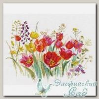 АЛИСА Набор для вышивания 2-34 *Полевые тюльпаны*