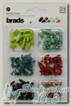 Набор брадс разноцветных серия *Oliver* MET2720 Basic Grey 180 шт
