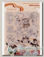 ASM-13 Набор штампов *Мишки №1* Mr. Painter