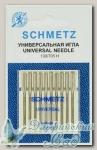 Иглы для бытовых швейных машин универсальные Schmetz № 100, 10 шт