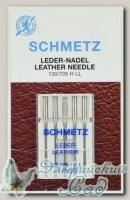 Иглы для бытовых швейных машин для кожи Schmetz № 110, 5 шт