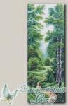 Канва с нанесенным рисунком *Летняя благодать*, Матренин Посад 1361