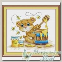 М.П.Студия Набор для вышивания М-052 *Лето на пасеке*