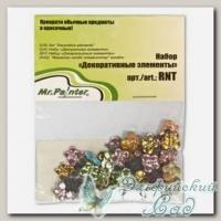 Декоративные элементы для скрапбукинга *Бабочки ассорти* Mr.Painter RNT-80