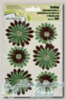 Декоративные элементы из фетра *Цветы зеленые* DAF/04 Mr.Painter