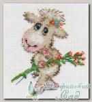 АЛИСА Набор для вышивания 0-105 *Милая овечка*