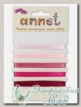 Набор атласных лент Annet ARS (цвет - 002 розовый)