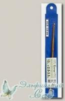 Крючок двухсторонний для вязания Гамма (Gamma) HD d=2,5-3,5 мм