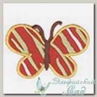 Аппликация клеевая *Полосатая бабочка* Annet EPB-04 (6,4х6 см)