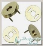 Кнопки магнитные металл BLITZ MKM-01 (под черный никель) d=14 мм 1 комплект