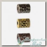 Бусины под металл Златка (Zlatka) PBM-03 14х10x3.5 мм, 25 шт