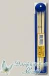 Чулочные спицы Гамма (Gamma) BC2 бамбуковые d=4,5 мм 20 см