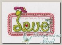 PANNA Набор для вышивания ВК-1376 *Прекрасная влюбленность*