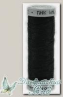 Швейные нитки Stieglitz 100 (Штиглиц 100) черный (6818) 150 м