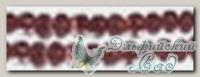 Бисер Златка (Zlatka) круглый, прозрачный с цветным отверстием - 0136B