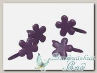Клипсы (брадс) *Цветок пурпурный* 7835339 Rayher, d=4 мм, 100 шт
