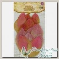 Листья тканевые (цвет - белое вино) 539160 CALCUTTA Prima Marketing, 18 шт