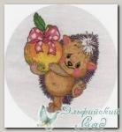 8-131 Набор для вышивания *Ежик с яблоком*, Кларт