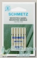 Иглы для бытовых швейных машин микротекс (особо острые) Schmetz №110, 5 шт