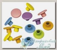 Кнопки *Круги* (классические цвета) 7838049 Rayher, d=7 мм, 50 шт