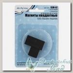 Магниты квадратные с клеевым слоем на вспененной основе SSM-02 Mr. Painter 6 шт