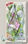 Набор для создания открытки с объемным рисунком *Щегол в шиповнике*, Reddy
