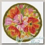 RIOLIS Набор для вышивания 1500 *Подушка *Тюльпаны*