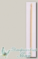 Крючок для вязания Гамма (Gamma) CHB бамбуковый d=6 мм