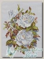 RTO Набор для вышивания M407 *Белые розы*