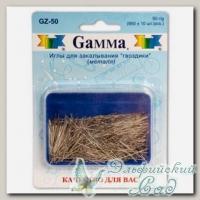 Иглы для закалывания *гвоздики* Gamma GZ-50 50 г