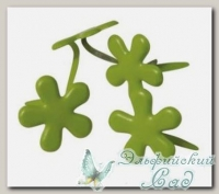 Клипсы (брадс) *Цветок зеленый* 7835529 Rayher, d=12 мм, 50 шт
