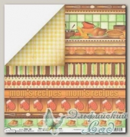 Бумага для скрапбукинга двусторонняя Mr. Painter PSW190/162 1 лист
