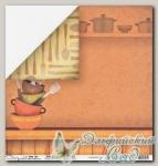 Бумага для скрапбукинга двусторонняя Mr. Painter PSW190/160 1 лист