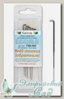 Иглы для валяния (фелтинга) запасные GAMMA FNB-005 (тонкие №40) обратные 5 шт