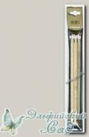 501-7/8-20 Чулочные спицы Адди (Addi) бамбуковые d=8 мм 20 см
