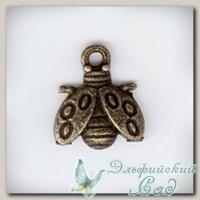 Подвески металлические *Божья коровка 4* (античная бронза) CN-2100231 1 шт