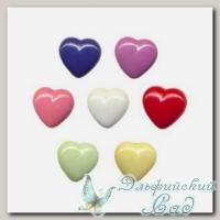 Пуговицы декоративные *Сердце* AY9931 Gamma 10 мм 6 шт