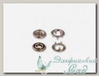 Кнопки рубашечные *Baby* KOH-I-NOOR (под никель), d=9.7 мм, 6 комплектов