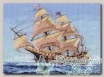 Канва с нанесенным рисунком *Морской странник*, Матренин Посад 1148